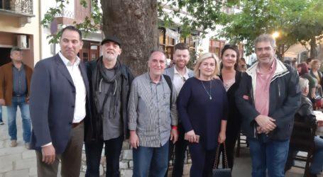 Στα εγκαίνια του Μιλτ. Παπαδημητρίου στην Αργαλαστή οι υποψήφιοι του Τσιλιμίγκα