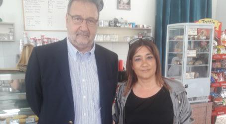 Συνάντηση Πιτσιόρλας με την πρόεδρος του φορέα Διοίκησης Διαχείρισης της Α' ΒΙΠΕ Βόλου