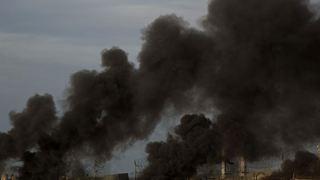 Ισραηλινές αεροπορικές επιδρομές σε αντίποινα για την εκτόξευση αυτοσχέδιων εκρηκτικών μηχανισμών