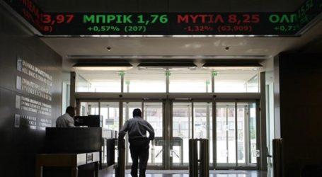 Θετικό πρόσημο στο Χρηματιστήριο Αθηνών