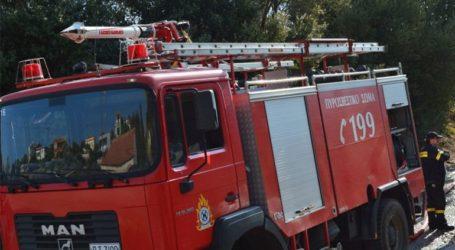 Σε εξέλιξη πυρκαγιά στη Μεταμόρφωση Χαλκιδικής