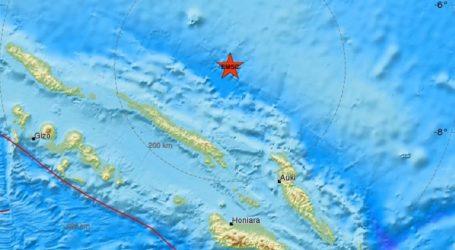 Σεισμός 6R ανοικτά των Νήσων Σολομώντα