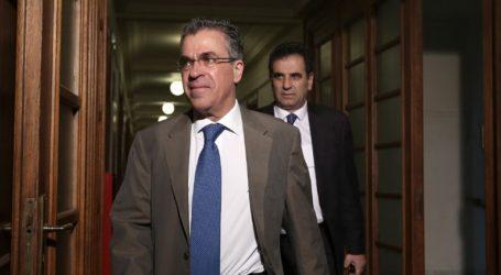 Παραιτείται από τη βουλευτική έδρα ο Αργύρης Ντινόπουλος, λόγω υποψηφιότητας στον Δ. Βριλησσίων