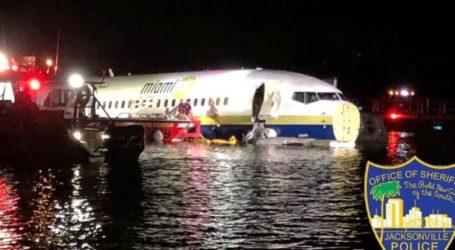 ΗΠΑ: Boeing 737 με 136 επιβάτες κατέληξε στον ποταμό Σεντ Τζονς