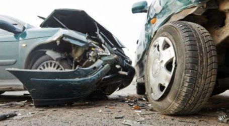 Tροχαίο ατύχημα στην παλαιά Εθνική Οδό Πατρών