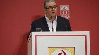Κουτσούμπας: Οι νησιώτες να καταδικάσουν με την ψήφο τους τα κόμματα που στήριξαν τη συμφωνία Ε.Ε.