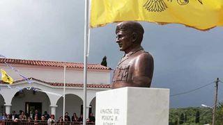 Αποκαλυπτήρια προτομής αγνοούμενου το 1974 στην Κύπρο
