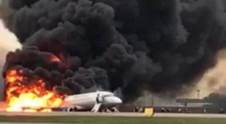 Ένας Αμερικανός ανάμεσα στα θύματα της πυρκαγιάς που ξέσπασε σε αεροσκάφος