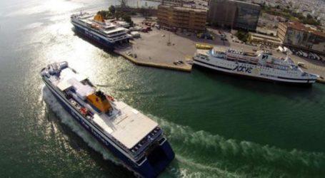 Πρόσκρουση πλοίου μεταφοράς βαρέων οχημάτων στο λιμάνι της Πάτρας