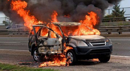 Εντοπίστηκε πτώμα έπειτα από κατάσβεση πυρκαγιάς σε αυτοκίνητο