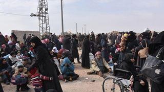 Περισσότεροι από 150.000 εκτοπισμένοι λόγω των αεροπορικών βομβαρδισμών