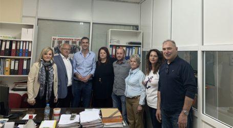 Ο Κώστας Μπακογιάννης στο Δημοτικό Βρεφοκομείο και τον Οργανισμό Πολιτισμού Αθλητισμού και Νεολαίας του Δ. Αθηναίων