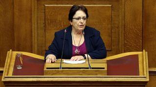 Παπαρήγα: Εμετική η αντιπαράθεση Τσίπρα