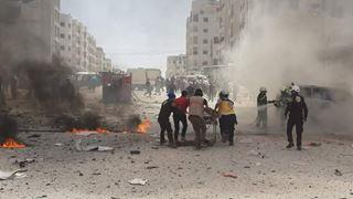 Νεκροί δέκα άμαχοι από αεροπορικές επιδρομές στην Ιντλίμπ