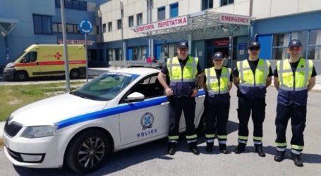 Έγκυος γέννησε με τη βοήθεια διασωστών του ΕΚΑΒ και αστυνομικών