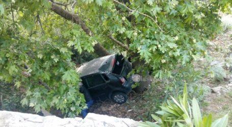 Κρήτη: Αυτοκίνητο έπεσε σε γκρεμό