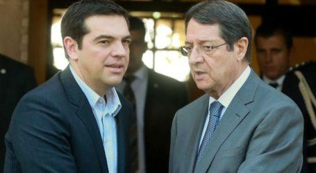 Συνάντηση Τσίπρα-Αναστασιάδη για τουρκική προκλητικότητα στην κυπριακή ΑΟΖ