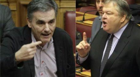 Βουλή: Κόντρα Βενιζέλου – Τσακαλώτου για πλεονάσματα και ειδικό λογαριασμό