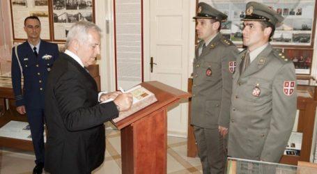 Επίσκεψη του Υπουργού Εθνικής Άμυνας Ευάγγελου Αποστολάκη στη Σερβία