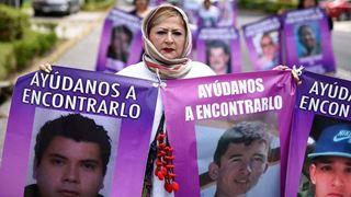Διαδήλωση από μητέρες χιλιάδων ανθρώπων που έχουν εξαφανιστεί