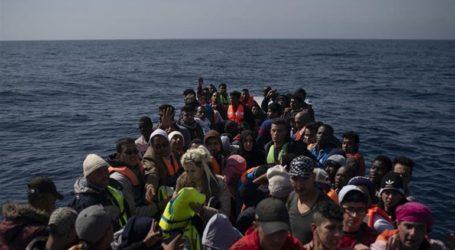 Μαλτέζικο περιπολικό σκάφος διέσωσε 85 μετανάστες από μια ξύλινη βάρκα που βυθιζόταν