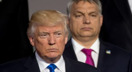 Ο Τραμπ υποδέχεται στον Λευκό Οίκο τον πρωθυπουργό της Ουγγαρίας Βίκτορ Όρμπαν