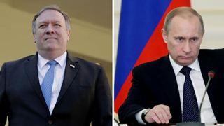 Ρωσία: Συνάντηση Πούτιν – Πομπέο με στόχο τη «σταθεροποίηση» των διμερών σχέσεων
