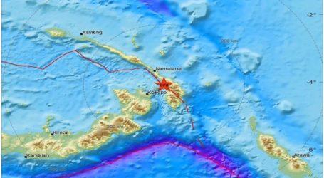 Ισχυρή σεισμική δόνηση 7,5R στην Παπούα Νέα Γουινέα