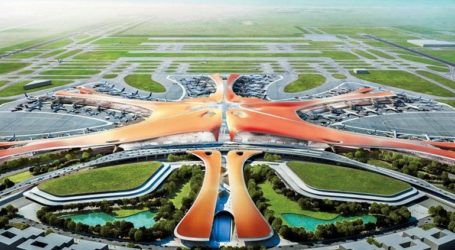 Ολοκληρώθηκαν οι πρώτες δοκιμαστικές πτήσεις αεροσκαφών στο νέο αεροδρόμιο του Πεκίνου