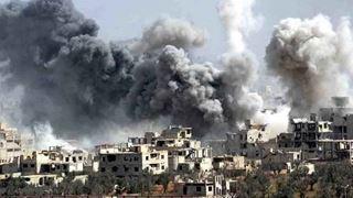 Δεκαπέντε άμαχοι νεκροί από βομβαρδισμούς στη Συρία