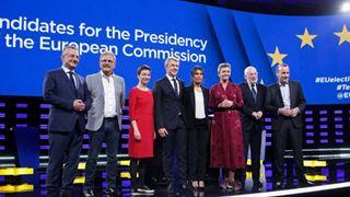 Debate των υποψηφίων για την προεδρία της Κομισιόν