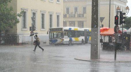 Καταιγίδες την Παρασκευή και στην Αθήνα