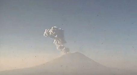 Μεξικό: «Ξύπνησε» το ηφαίστειο Popocatepetl