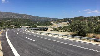 Ηράκλειο: Παραδόθηκε στην κυκλοφορία ο νέος οδικός άξονας Αγία Βαρβάρα