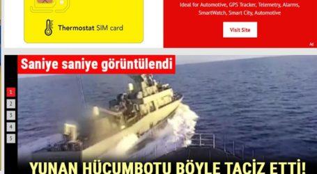 Χουριέτ:«Ελληνική πυραυλάκατος παρενόχλησε τουρκική κορβέτα στο Νότιο Αιγαίο»