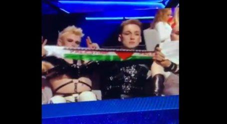 Οι Ισλανδοί σήκωσαν κασκόλ υπέρ της Παλαιστίνης στη Eurovision