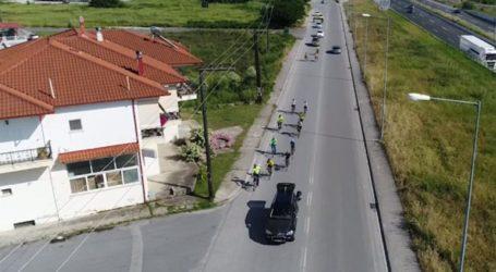 Στην τελική ευθεία για το μνημείο της Γενοκτονίας η ποδηλατοδρομία που φέρει τη «Φλόγα του Πόντου»
