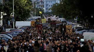 Με πορεία προς το τουρκικό προξενείο, ολοκληρώθηκαν οι εκδηλώσεις για την Γενοκτονία των Ποντίων