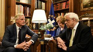 Η Κυπριακή ΑΟΖ και το Brexit στο επίκεντρο της συνάντησης του Παυλόπουλου