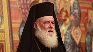 Συνάντηση Ιερώνυμου με τον Αρχιεπίσκοπο Κύπρου Χρυσόστομο
