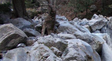 Νεκρός τουρίστας στο φαράγγι της Σαμαριάς