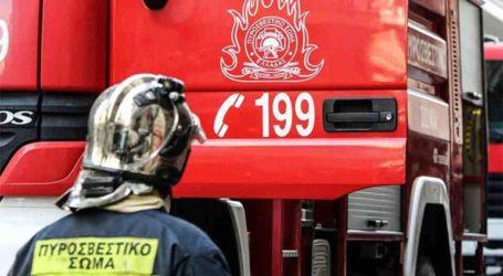 Έκρηξη σε κατάστημα ελαστικών στην Ελευσίνα