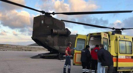 Έξι συνάνθρωποί μας μεταφέρθηκαν σε νοσοκομεία με τα πτητικά μέσα της Πολεμικής Αεροπορίας