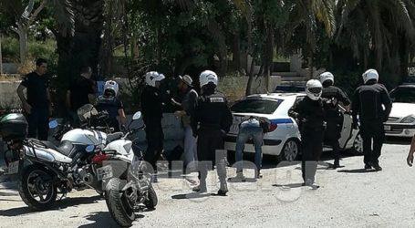 Μικροένταση στον Σκαραμαγκά σε διαμαρτυρία μεταναστών