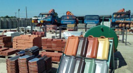 Αύξηση 0,1% σημείωσαν οι τιμές των οικοδομικών υλικών τον Απρίλιο