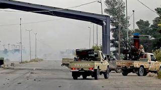 Σφοδρές μάχες στην πρωτεύουσα Τρίπολη