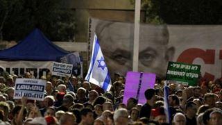 Χιλιάδες διαδηλωτές εναντίον του Νετανιάχου