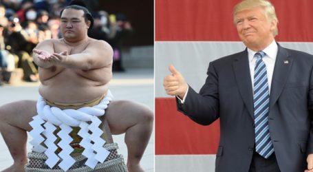 Με φόντο τις διαφορές στο εμπόριο, ο Τραμπ και ο Άμπε παίζουν γκολφ και παρακολουθούν σούμο