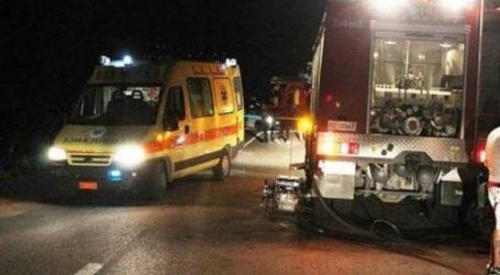 Τροχαίο ατύχημα με τραυματισμό στα Χανιά