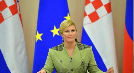Πρώτη η Κροατική Δημοκρατική Ένωση της προέδρου Κιτάροβιτς